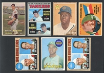 1950s-70s Star and HOF Rookie Card Group of (7)