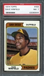 1974 Topps #456 Dave Winfield PSA 7 NM