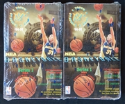 1994-95 Topps Stadium Club Basketball Series 1 Unopened Wax Box Group of (2)
