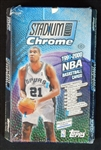 1999-2000 Topps Stadium Club Chrome Basketball Unopened Wax Box