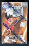 1995-96 Fleer Metal Basketball Unopened Wax Box