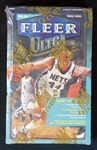 1998-99 Fleer Ultra Basketball Unopened Wax Box