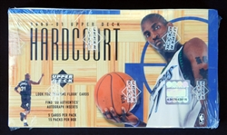 2000-2001 Upper Deck Hardcourt Basketball Unopened Wax Box
