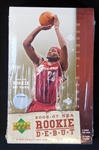 2006-07 Upper Deck NBA Rookie Debut Basketball Unopened Wax Box