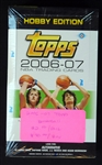 2006-07 Topps Hobby Edition Basketball Unopened Wax Box