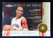 2000-01 Fleer Authority Basketball Unopened Wax Box
