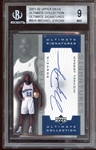 2001-02 Upper Deck Ultimate Collection Ultimate Signatures #MJA Michael Jordan BGS 9 MINT