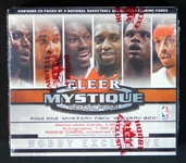 2003-04 Fleer Mystique Basketball Unopened Hobby Box