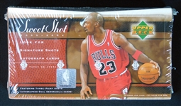 2003-04 Upper Deck Sweet Shot Unopened Hobby Box
