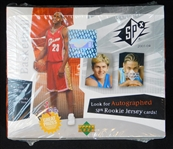 2003-04 Upper Deck SPx Basketball Unopened Hobby Box
