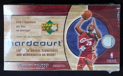 2005-06 Upper Deck Hardcourt Basketball Unopened Hobby Box