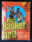 1978-79 Topps Basketball Unopened Wax Box BBCE