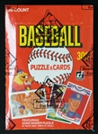 1984 Donruss Baseball Unopened Wax Box BBCE