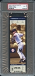2003 Fleer Authentix #7 Derek Jeter Ticket Studs PSA 4 VG-EX