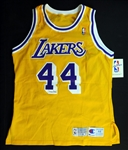 Jerry West Signed Los Angeles Lakers Jersey UDA
