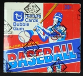 1979 Topps Baseball Full Unopened Cello Box BBCE