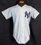 1989 Hal Morris/Ken Phelps New York Yankees Game-Used Home Jersey