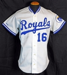 1989 Bo Jackson Kansas City Royals Game-Used and Signed Home Jersey Sports Investors Authentication- JSA