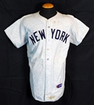 1958 Bill Dickey New York Yankees Game-Used and Signed Road Jersey Sports Investors Authentication-JSA