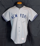 1979 Bob Lemon New York Yankees Game-Used and Signed Road Jersey Sports Investors Authentication- JSA