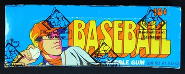 1972 Topps Baseball Full Unopened Series 1 Wax Box BBCE