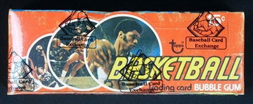 1974 Topps Basketball Full Unopened Wax Box BBCE