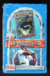1993 Topps Finest Baseball Unopened Hobby Box