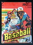 1978 Topps Baseball Full Unopened Wax Box BBCE