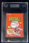 1984 Donruss Baseball Unopened Wax Box GAI 9.5 GEM MINT