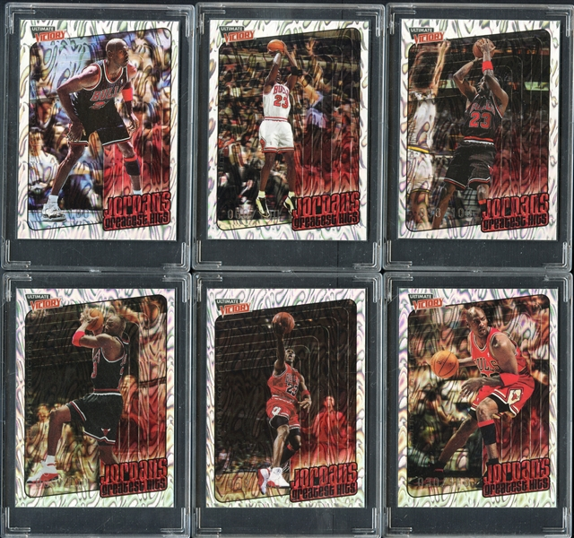 1999-00 Upper Deck Ultimate Victory Parallel Michael Jordan /100 Complete Set of 30