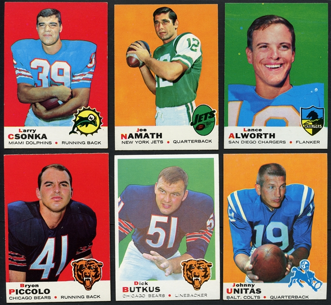 1969 Topps Football Complete Set