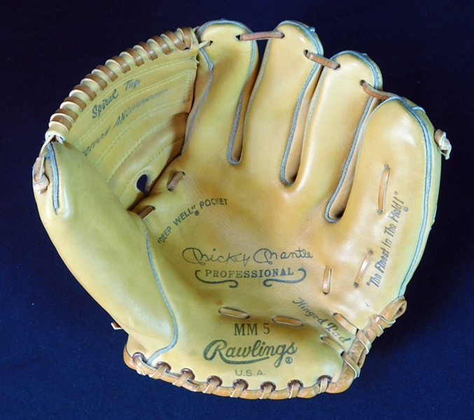 1950s High-Grade Rawlings Mickey Mantle MM5 Glove