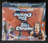 2002-03 Topps Chrome NBA Unopened Box