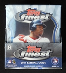 2011 Topps Finest Baseball Unopened Master Box