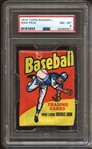 1975 Topps Baseball Unopened Wax Pack PSA 8 NM/MT