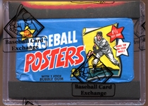 1968 Topps Baseball Posters Unopened Wax Pack BBCE