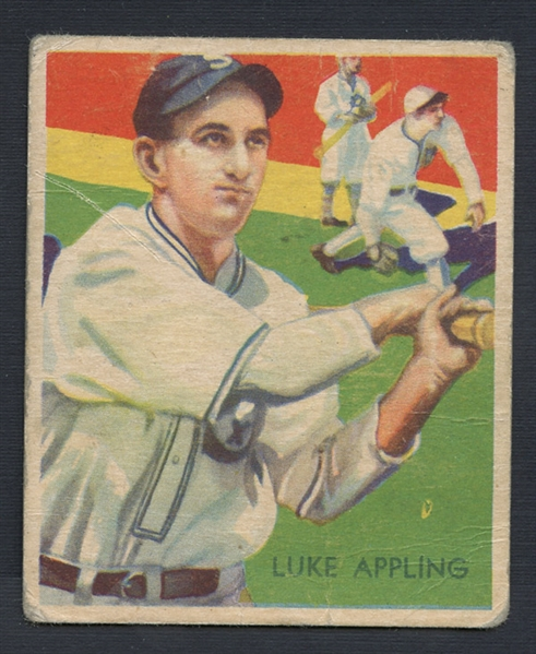 1934-36 Diamond Stars #95 Luke Appling