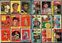 1954-1963 Baseball Shoebox Collection Over 1,000 Cards HOFers and Rookies