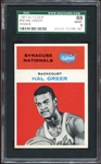 1961 Fleer #16 Hal Greer SGC 8 NM/MT