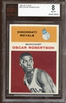 1961 Fleer #36 Oscar Robertson BVG 8 NM/MT