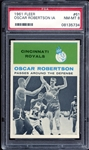 1961 Fleer #61 Oscar Robertson In Action PSA 8 NM/MT