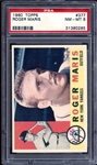 1960 Topps #377 Roger Maris PSA 8 NM/MT