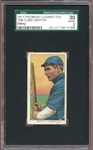1909-11 T206 Piedmont 350-460/25 Clark Griffith Batting SGC 2 GOOD