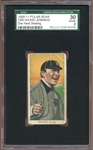 1909-11 T206 Polar Bear Hughie Jennings One Hand Showing SGC 2 GOOD