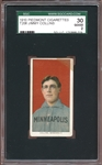 1909-11 T206 Piedmont 350/25 Jimmy Collins SGC 2 GOOD
