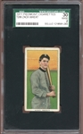 1909-11 T206 Piedmont 350-460/25 Zack Wheat SGC 2 GOOD