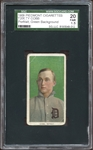 1909-11 T206 Ty Cobb Portrait Green Background SGC 1.5 FAIR