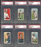 1909-11 T206 Group of (15) PSA Graded Cards