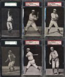 1907-09 Dietsche Postcards Near Complete Set with PSA/SGC Graded