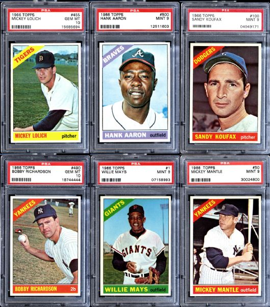 1966 topps, baseball cards, vintage cards